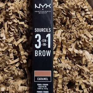NYX Sourcils 3-in-1 Brow - Caramel